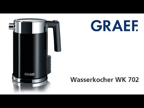 Produktvideo Graef Wasserkocher WK 702