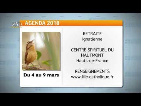 Agenda du 16 février 2018