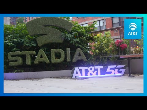 Game at Peak Performance with Google Stadia and AT&T 5G-YoutubeVideoText