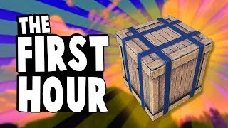 The First Hour - ep 3 - Ultimate Rust Tutorial Series 2019