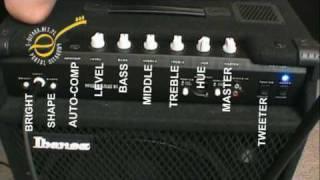 test Ibanez SWX100 SoundWave - Mayones Prestige 6
