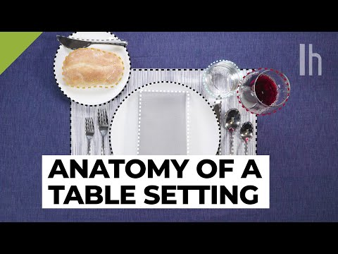 How to Properly Set a Table | Lifehacker