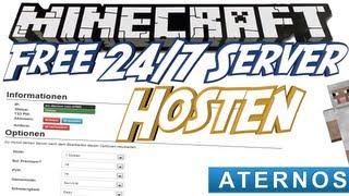 Kostenlose Minecraft Server Online Tutorial Дом новости и - Minecraft server erstellen kostenlos aternos