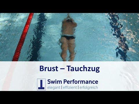 Brust: Der korrekte Brust Tauchzug - Brustschwimmen Richtig lernen