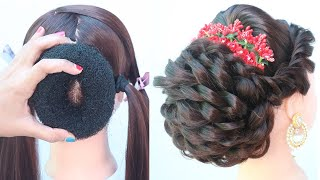 Latest Messy Updo Hairstyle For Thin Hair || New Hairstyle || Hair Style Girl || Easy Hairstyles