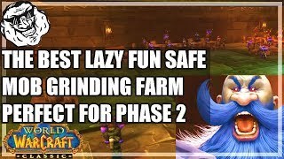 WoW Classic Lazy Farm Guide - Phase 2 Safe Farming. Best Method. Fun and Easy Farming.