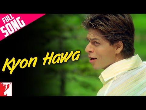 Kyon Hawa - Full Song | Veer-Zaara | Shah Rukh Khan | Preity | Yash Chopra | Lata | Sonu