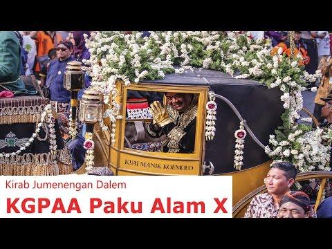 Jogja Archive: KIRAB JUMENENGAN DALEM KGPAA PAKU ALAM X