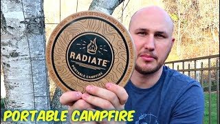 Portable Campfire in a Can   Kholo.pk