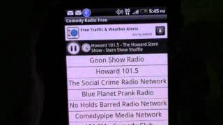 Listen to Howard STERN - FREE on any  android  Phone !!!!
