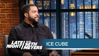 """Ice Cube: Inventor of """"Bye, Felicia"""" and """"It's on Like Donkey Kong"""" - Late Night with Seth Meyers"""