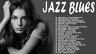 Jazz Blues Music | Greatest Blues Rock Songs Of All Time | Relaxing Cafe Music