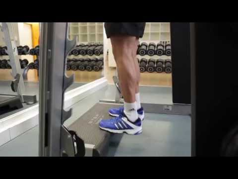 Smith Machine Calf Raise