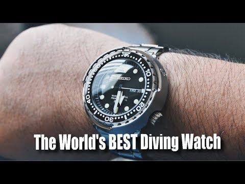 Unboxing The World's BEST Diving Watch