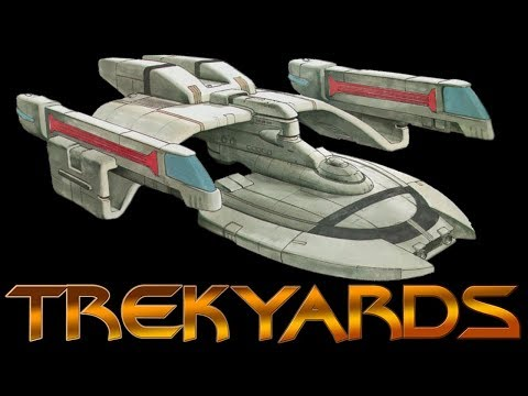 USS Defiant Early Concept 1 (Jim Martin)