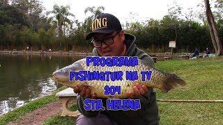 Programa Fishingtur na TV 204 - Pesqueiro Santa Helena e suas carpas no inverno