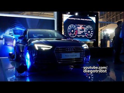 Novo Audi A4 2017 (Ft. Gustavo SJC) | Lançamento