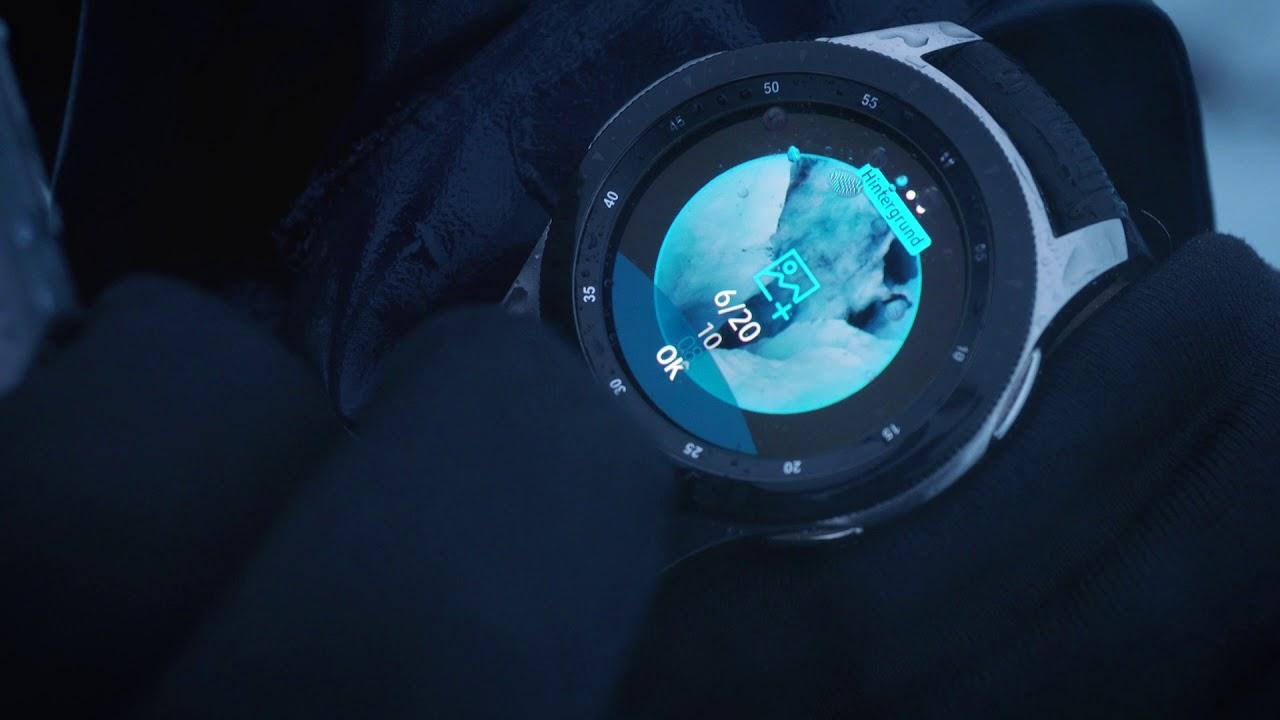 Samsung Galaxy Watch: Watchface