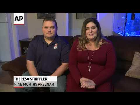 A New Jersey air traffic controller and his pregnant wife say they risk financial troubles if the federal government shutdown is not resolved. (Jan. 9)