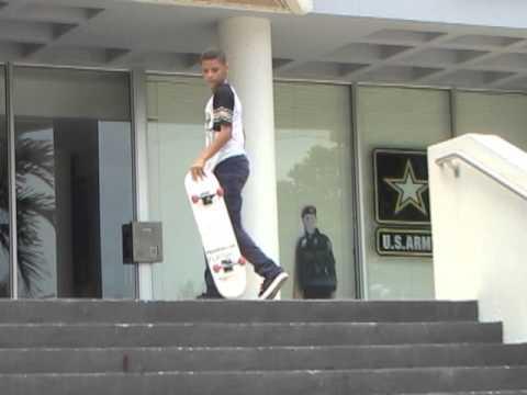 Marcos Montoya throwaway footage street edit