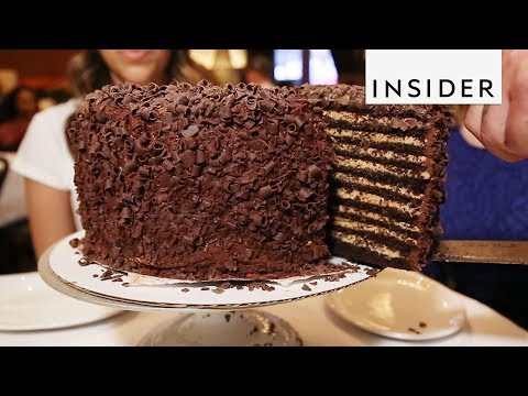 20 Layer Chocolate Peanut Butter Cake