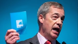 Friday evening news briefing: Nigel Farage targets immigration as he unveils Brexit Party's 'contract with the people