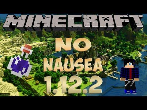 Descargar e Instalar NoNausea quitar efecto NÁUSEA para Minecraft 1.12.2