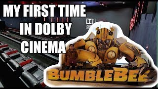 MY FIRST TIME WATCHING DOLBY CINEMA| #BumbleBee MOVIE DATE