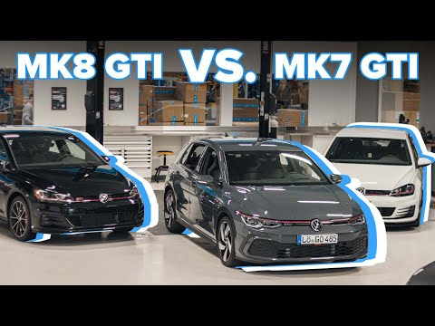 2021 MK8 Volkswagen GTI vs. 2021 Volkswagen MK7 GTI - Exterior Comparison, Interior, & Specs