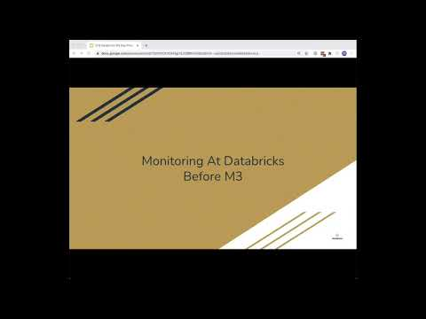 CNCF On-Demand Webinar: Scaling Monitoring at Databricks from Prometheus to M3
