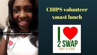 Chips volunteer xmast lunch