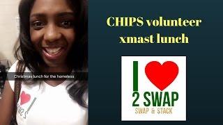 Chips volunteer xmast lunch