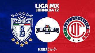 Pachuca [0-0] Toluca | Juego completo | Jornada 12 | Liga MX | Apertura 2020