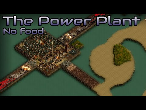 They are Billions - The power plant - No food production - custom map - No pause