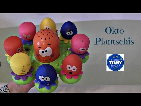 Okto Plantschis Badespielzeug  | TOMY Toys