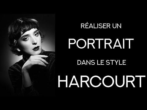 Faire un portrait dans le style Harcourt