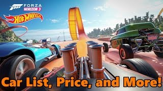 Forza Horizon 3 | Hot Wheels Expansion | FULL DETAILS, PRICE, CARS, RELEASE DATE AND MORE!