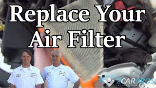 Air Filter Change Ford Transit 2002-2013