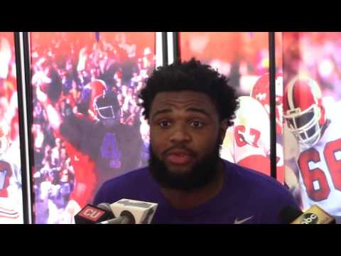TigerNet.com - Christian Wilkins wants to throw the football