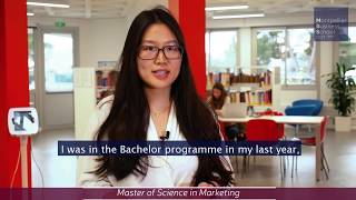 Xu Liang, MBS international student (China) - MSc in Marketing