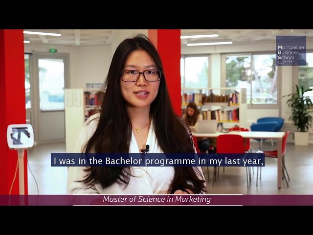 Xu Liang, MBS international student (China) – MSc in Marketing