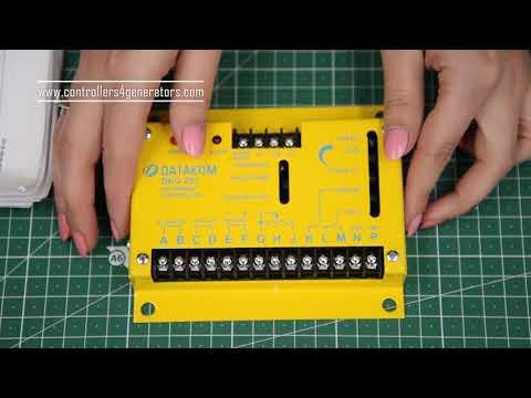 Видео обзор регулятора скорости двигателя DKG-253