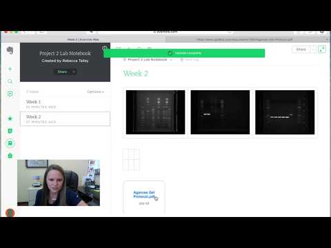 Evernote Lab Notebook Tutorial - Adding Content (Part 3/4)