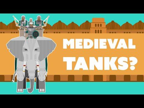 Indian War Elephants Were No Less Than Monstrous Tanks