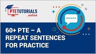 pte tutorials repeat sentence - ฟรีวิดีโอออนไลน์ - ดูทีวีออนไลน์