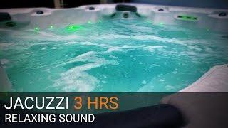 OUTDOOR JACUZZI - RELAXING SOUND & VIDEO - 3 HOURS + Underwater Shot