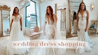 WEDDING DRESS SHOPPING ⎮ Trying on 24 dresses!