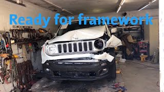 Rebuilding A Wrecked 2016 Jeep Renegade Part 1