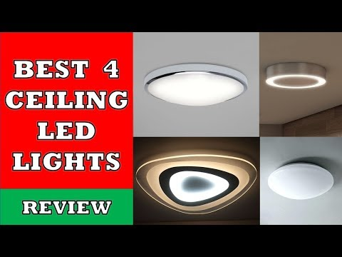 Best 4 Ceiling LED Light Panels in 2019 - Review