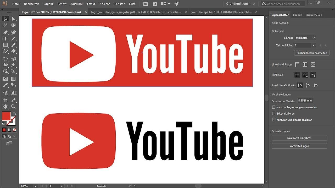 Logo professionell erstellen – Illustrator-Tutorial